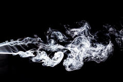 czarny dym tła Obraz Royalty Free