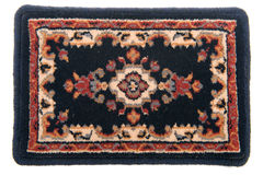 czarny dywan fotografia stock