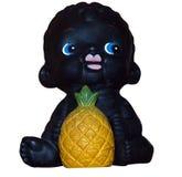 czarny dziecka ananasa zabawka Fotografia Stock