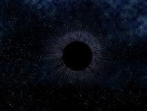 czarny dziura Fotografia Royalty Free