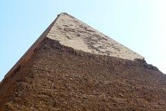 czarny Egypt ostrosłupa biel Zdjęcia Royalty Free