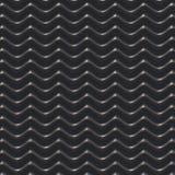 Czarny falowy abstrakcjonistyczny tło 3d Obrazy Royalty Free