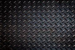 Czarny farby tekstury metal, przerwy zamyka up obrazy royalty free