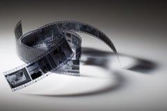 czarny film white Obrazy Royalty Free