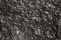 Czarny folia Fotografia Stock