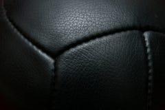 czarny futbolowy rocznik Obraz Stock