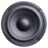 czarny głośnik Zdjęcia Stock