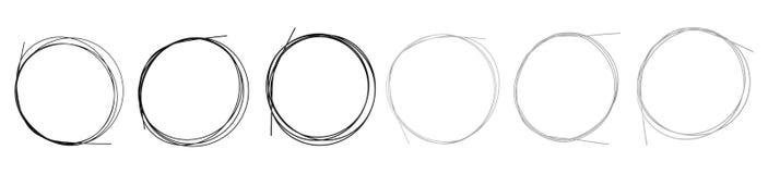 czarny gatunku metalu nowa nylonowa ustalona strin rana Zdjęcia Stock