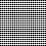 czarny gingham white bezszwowy Fotografia Stock