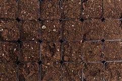 Czarny glebowy tekstury tło obraz royalty free