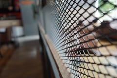 Czarny grilla rozdział w restauracji z plamy tłem w Tajlandia zdjęcia stock