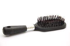 Czarny hairbrush Zdjęcie Stock