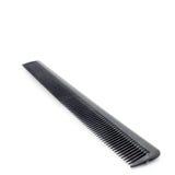 Czarny hairbrush na białym tle odosobniony Obraz Stock