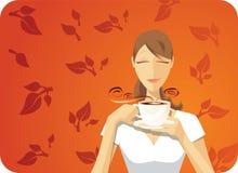 czarny herbata Fotografia Royalty Free