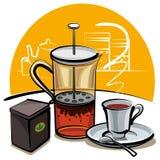 czarny herbata Obrazy Royalty Free