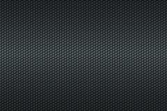 Czarny honeycomb węgla włókna tło Obrazy Stock