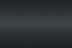 Czarny honeycomb węgla włókna tło Fotografia Royalty Free