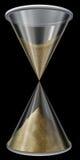 czarny hourglass ilustracja wektor