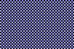 Czarny i błękit sprawdzać wzór Zdjęcie Stock