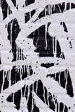 Czarny I Biały ściana z cegieł Fotografia Royalty Free