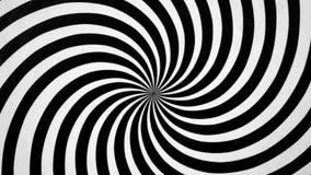 Czarny I Biały Ślimakowata Przędzalniana lewica ilustracji