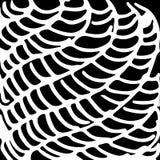 czarny i biały abstrakcjonistyczna ręka rysująca Obrazy Stock