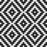 Czarny i biały abstrakcjonistyczny tło Zdjęcie Royalty Free