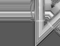 Czarny i biały aluminiowy tło Metal drymby i abstrakcjonistyczni technologiczni składniki koncepcja przemysłowe Obraz Royalty Free