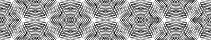Czarny i biały Bezszwowa Rabatowa ślimacznica geometryczny ilustracja wektor