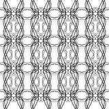 Czarny i biały BEZSZWOWY GEOMETRYCZNY, tło projekt TUPOCZEMY/ nowożytna elegancka tekstura Wielostrzałowy i editable Fotografia Stock