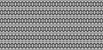 Czarny i biały bezszwowy wzór abstrakcjonistyczny elements_ royalty ilustracja