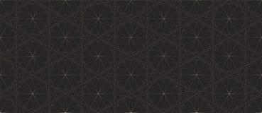 Czarny I Biały Bezszwowy wzór z Wyginać się Przecina liniami Wektorowymi Obraz Royalty Free