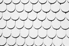 Czarny i biały dachowy tło Zdjęcie Stock