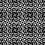Czarny i biały deseniowy bezszwowy Obrazy Stock