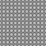 Czarny i biały deseniowy bezszwowy Obraz Stock