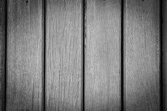 Czarny I Biały Drewniana tekstura dla tła Obraz Stock