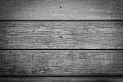 Czarny I Biały Drewniana tekstura dla tła Fotografia Stock