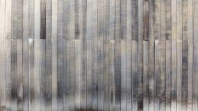 Czarny i biały drewnianego tekstury tła starzy panel Zdjęcia Royalty Free