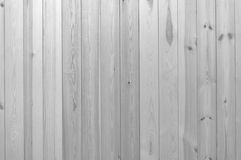 Czarny i biały drewniany deski ściany tekstury tło Zdjęcie Stock