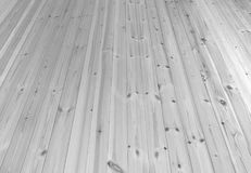 Czarny i biały drewniany deski ściany tekstury tło Fotografia Stock