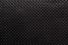 Czarny i biały gradientu tekstury dziurkowaty rzemienny tło Zdjęcie Royalty Free