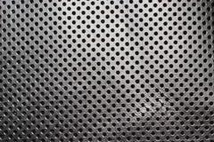 Czarny i biały gradientu tekstury dziurkowaty rzemienny tło Obrazy Stock