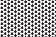Czarny i biały heksagonalny wzór ilustracja wektor