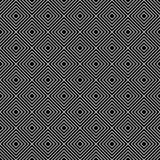Czarny I Biały Karowy płytka wzoru powtórki tło Zdjęcia Stock