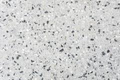 Czarny i biały kropka zmiennik bielu marmuru tło obraz stock