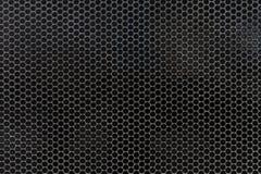 Czarny i biały kropkowany halftone wektoru tło Zdjęcia Royalty Free