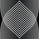 Czarny i biały kurenda wykłada tunel royalty ilustracja