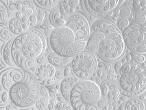 Czarny i biały kwiecisty wzór dla kolorystyki książki w doodle stylu ilustracji