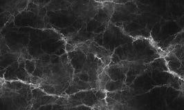 Czarny i biały marmurowy tekstury tło dla projekta, bezszwowy Obraz Royalty Free