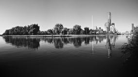 czarny i biały Melbourne zdjęcia royalty free